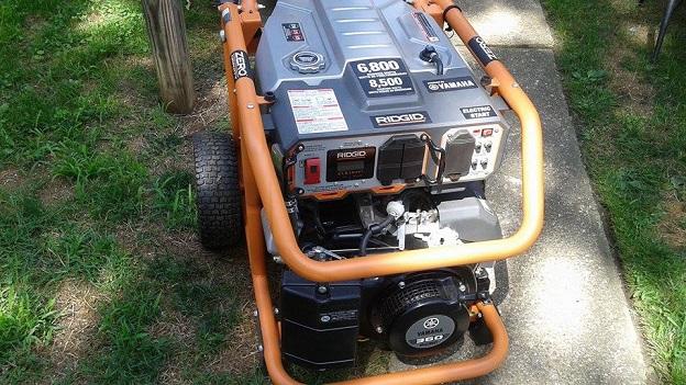 Trenton generator ridgid yamaha motor 6800w electric for Ridgid 6800 watt generator with yamaha engine
