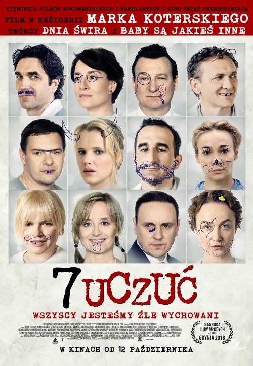 Ogłoszenie darmowe. Lokalizacja:  NJ, NY, PA.. IMPREZY - Film i teatr. 7 UCZUĆ - Komedia Marka.