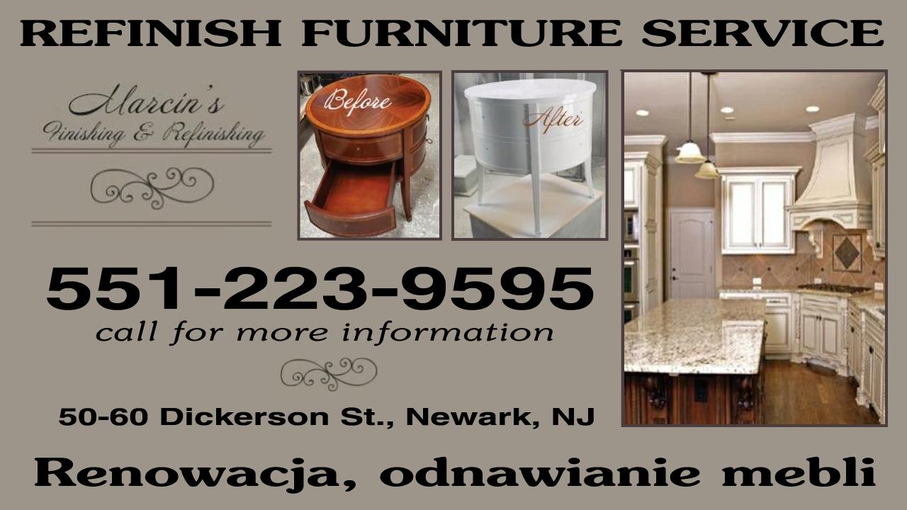 Ogłoszenie darmowe. Lokalizacja:  Newark. USŁUGI - Naprawy domowe. Finishing&Refinishing;.