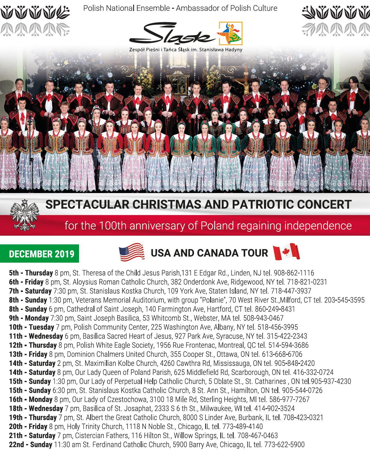Ogłoszenie darmowe. Lokalizacja:  USA i Canada. IMPREZY - Koncerty muzyczne. ZAPRASZAMY NA WSPANIAŁY WYSTĘP ZESPOŁU.