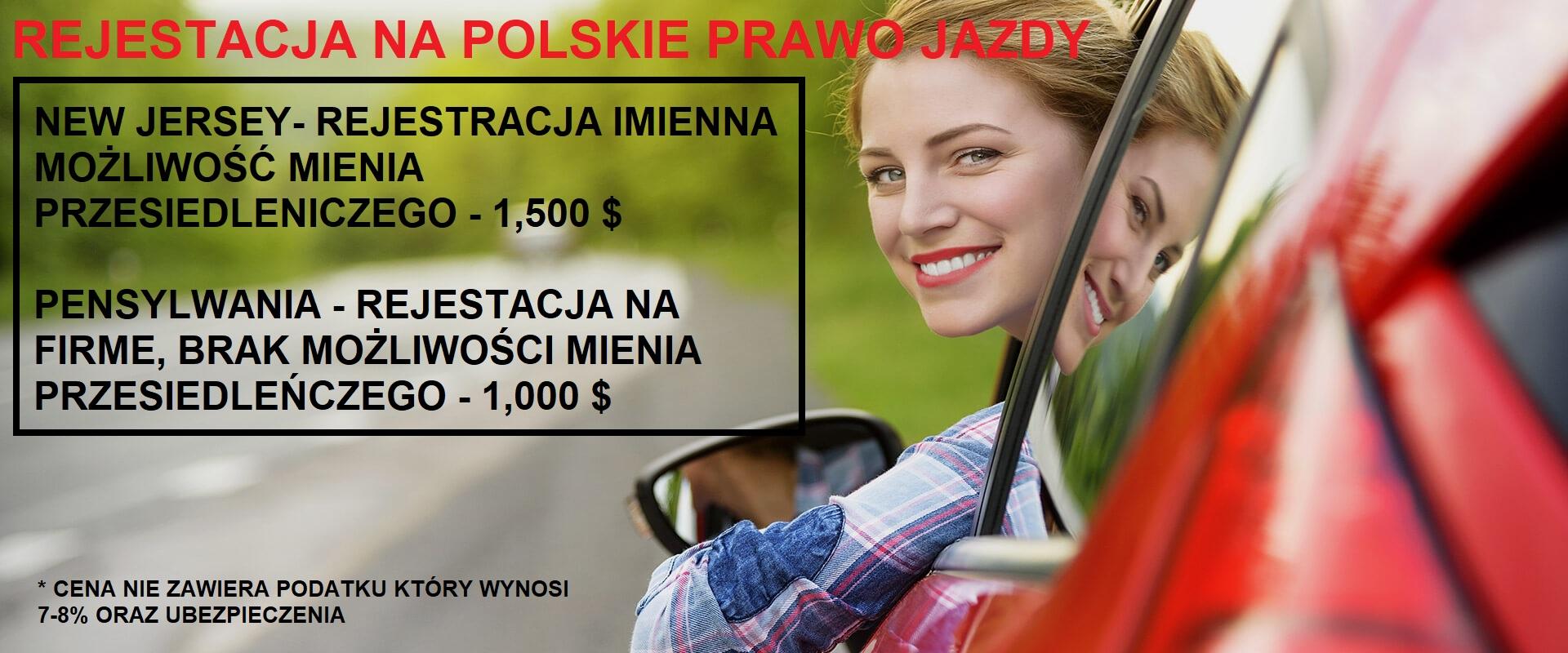 Ogłoszenie darmowe. Lokalizacja:  All States. USŁUGI - Motoryzacyjne. Zarejestruj Auto na Polskie Prawo.