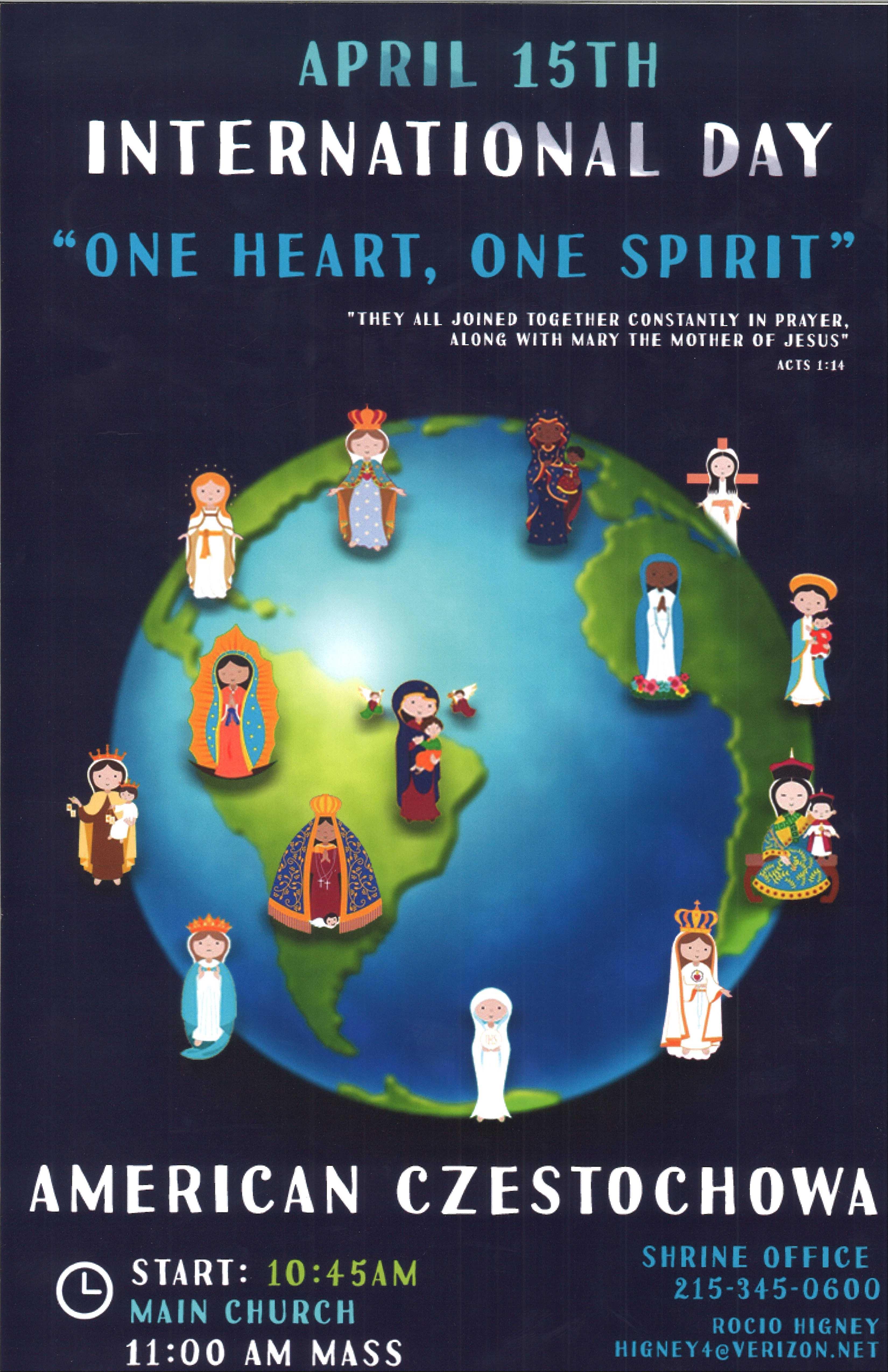 Ogłoszenie darmowe. Lokalizacja:  654 Ferry Road, Doylestown PA 18901. EVENTS - religious. International Day