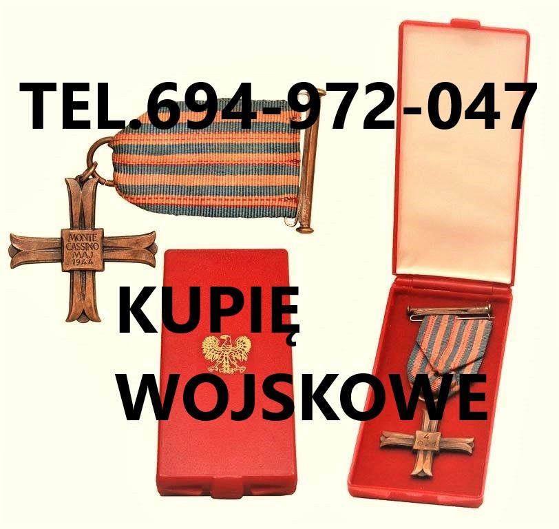 Ogłoszenie darmowe. Lokalizacja:  Polska. KUPIĘ / SPRZEDAM - Wszystkie inne. KUPIE WOJSKOWE STARE ODZNACZENIA Polskie.