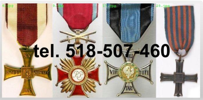 Ogłoszenie darmowe. Lokalizacja:  cały kraj. KUPIĘ / SPRZEDAM - Wszystkie inne. Kupię stare odznaki, odznaczenia, medale,.