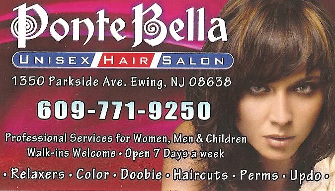 Ogłoszenie darmowe. Lokalizacja:  Ewing, NJ. ARCHIVES - All. PONTE BELLA UNISEX HAIR SALON.