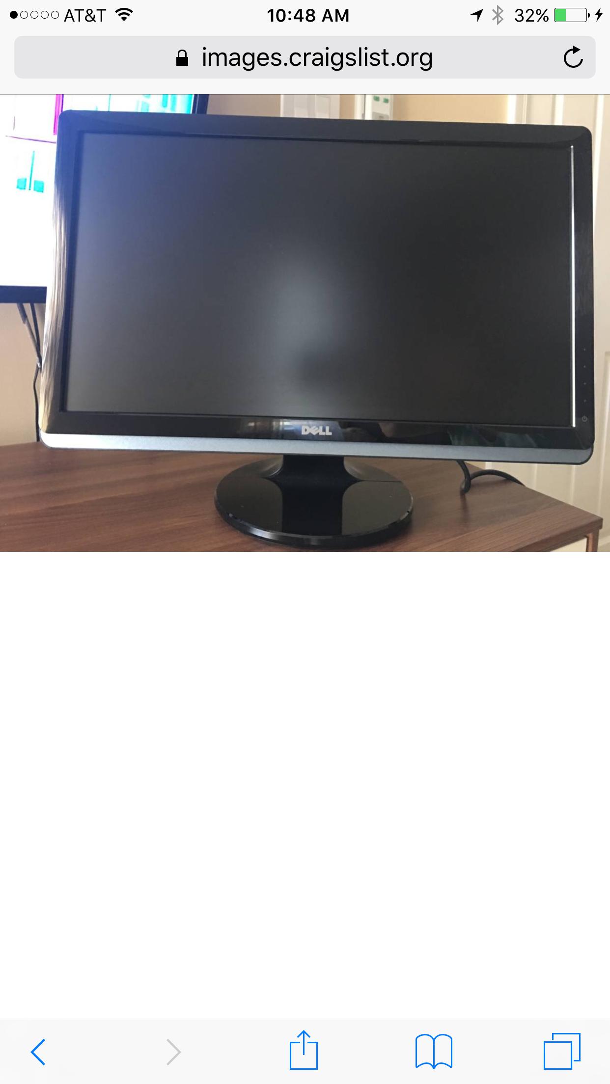 Ogłoszenie darmowe. Lokalizacja:  Trenton, Philadelphia. COMPRA Y VENTAS - Electrónica. Se vende monitor Dell ST2220L.