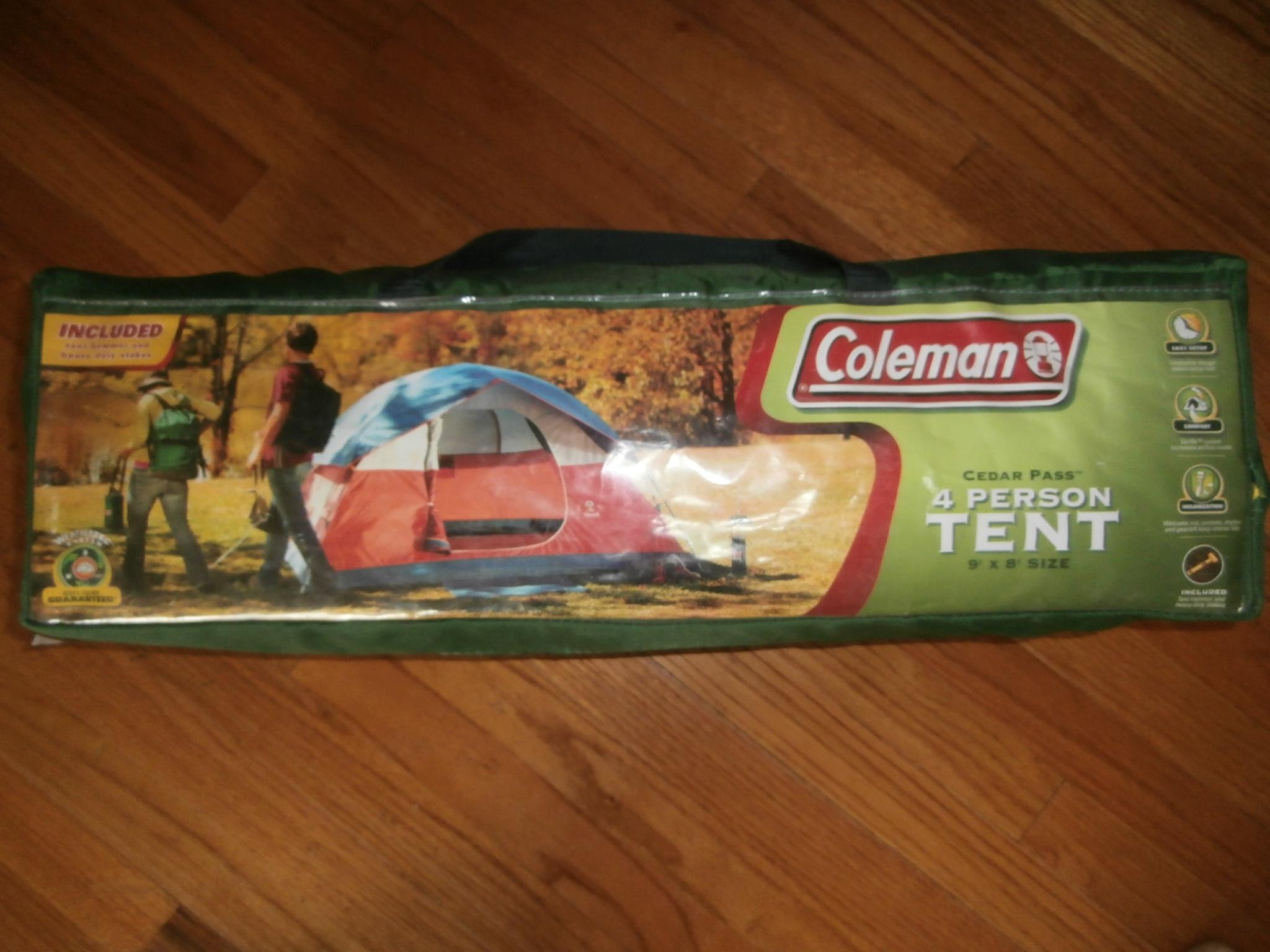 Ogłoszenie darmowe. Lokalizacja:  Hillsborough, NJ. ARCHIWALNE - Wszystkie. Sprzedam namiot Coleman 4 osobowy..