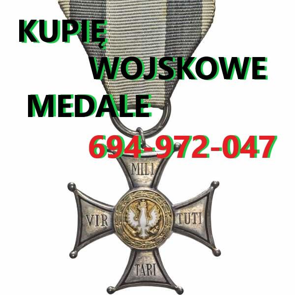 Ogłoszenie darmowe. Lokalizacja:  Polska. KUPIĘ / SPRZEDAM - Wszystkie inne. Kupię wojskowe stare odznaczenia,odznaki,medale,ordery,szable,bagnety.